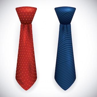 Cravate design.