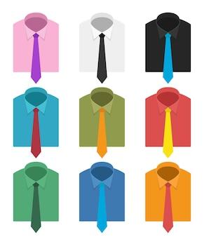 Cravate isolé sur fond blanc