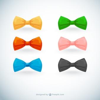 Cravates colorées