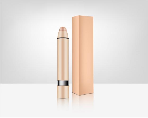 Crayon à lèvres cosmétique réaliste