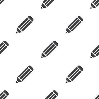 Crayon, modèle sans couture de vecteur, modifiable peut être utilisé pour les arrière-plans de pages web, les remplissages de motifs