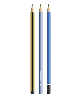 Crayon réaliste.