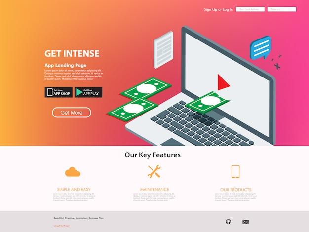 Créateur vidéo pour site web de réseautage internet