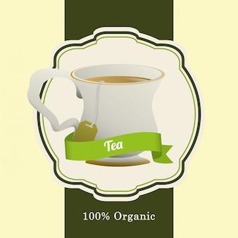 Création de badge heure du thé