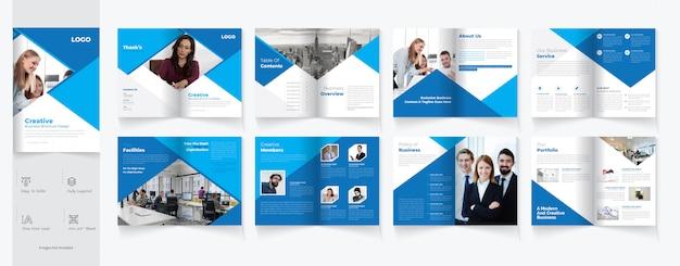 Création de brochures à deux volets