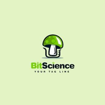 Création de logo de champignon