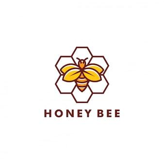 Création du logo de l'abeille