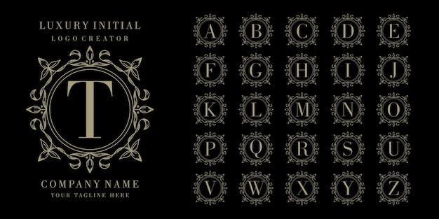 Création du logo du cadre floral du lit initial