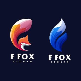 Création du logo f fox