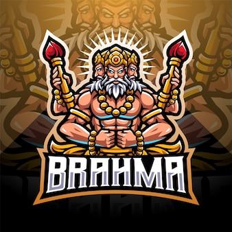 Création du logo de la mascotte brahma esport