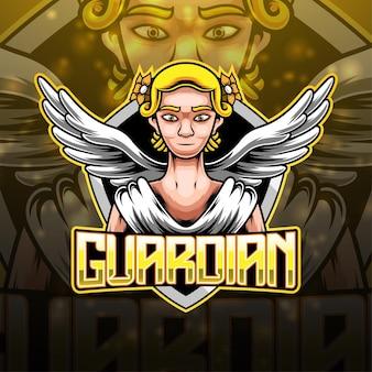 Création du logo de la mascotte guardian esport