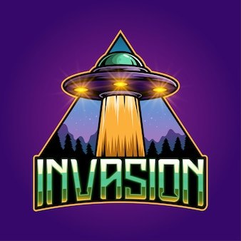 Création du logo de la mascotte invasion esport
