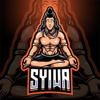 Création du logo de la mascotte syiwa esport