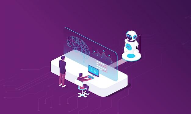 Création d'intelligence artificielle