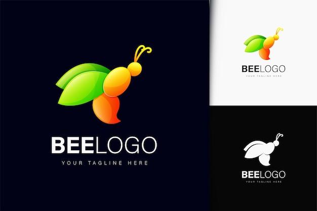 Création de logo d'abeille avec dégradé