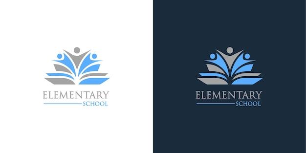 Création de logo abstrait école primaire