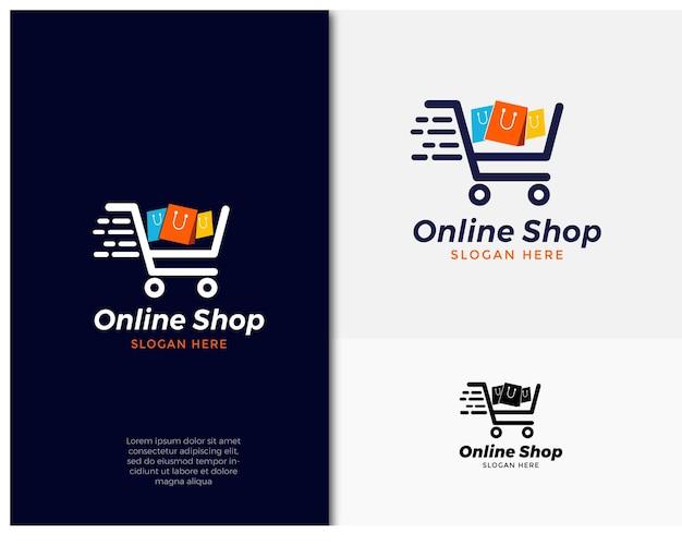 Création de logo d'achat en ligne