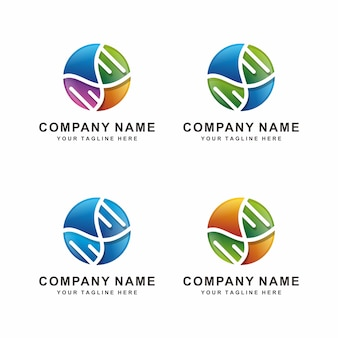 Création de logo adn abstrait