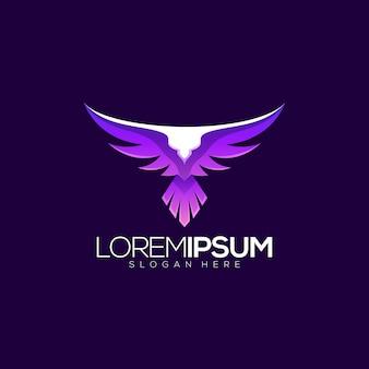 Création de logo d'aigle génial