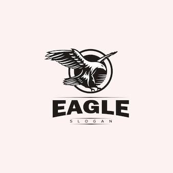 Création de logo aigle majestueux