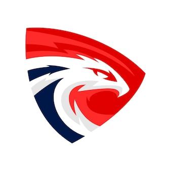 Création de logo d'aigle
