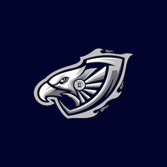 Création de logo aigle