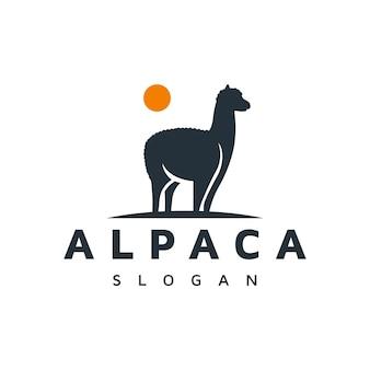 Création de logo d'alpaga