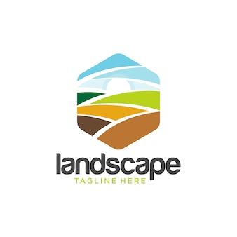 Création de logo d'aménagement paysager