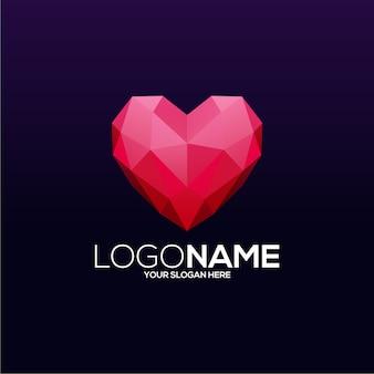 Création de logo d'amour