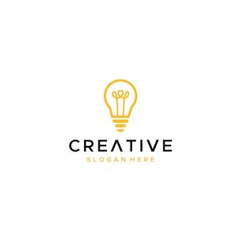 Création de logo d'ampoule