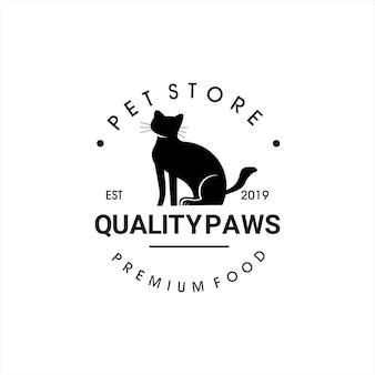Création de logo d'animalerie vintage