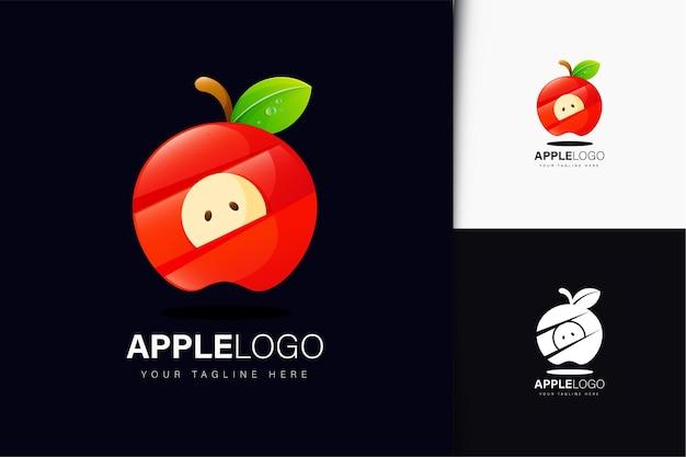 Création de logo apple avec dégradé
