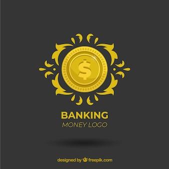 Création de logo d'argent moderne