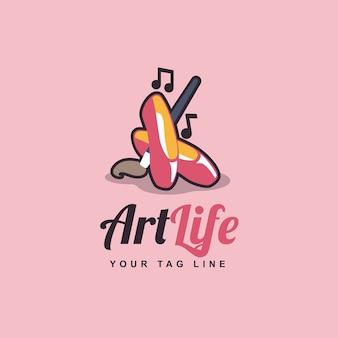 Création de logo d'art