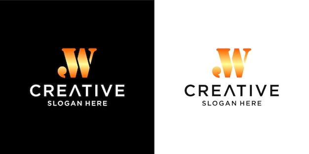 Création de logo aw