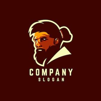 Création de logo barbe