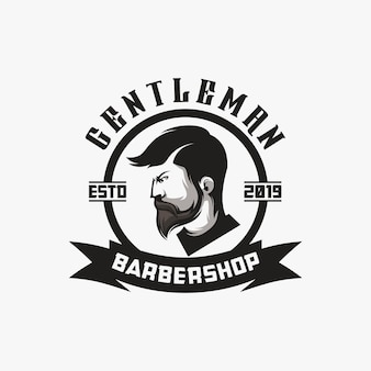 Création de logo barbershop