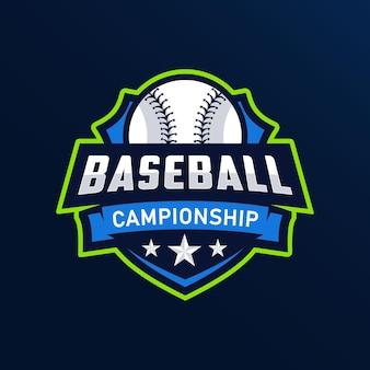 Création de logo de base-ball