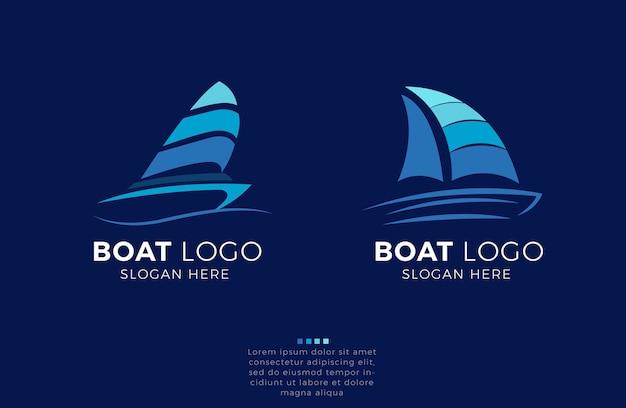 Création de logo de bateau