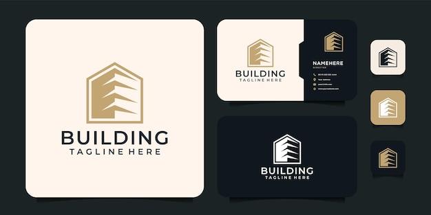 Création de logo de bâtiment