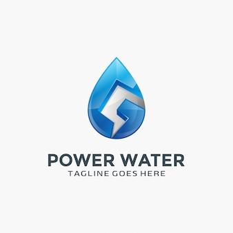 Création de logo blue water