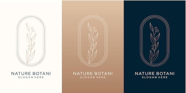 Création de logo botanique nature pour votre marque