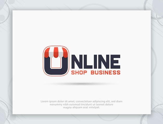 Création de logo de boutique hors ligne et en ligne