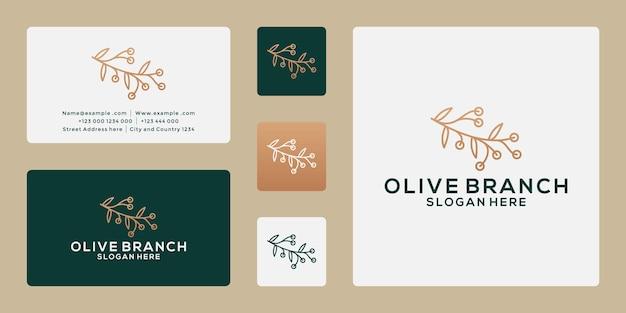 Création de logo de branche d'huile d'olive pour votre spa d'entreprise, thérapeute, santé