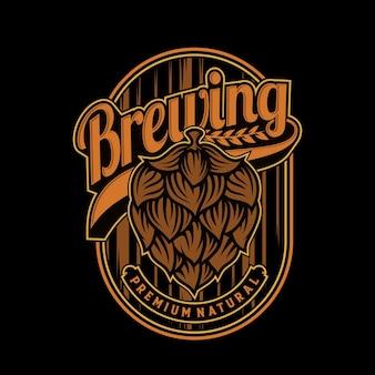 Création de logo de brassage
