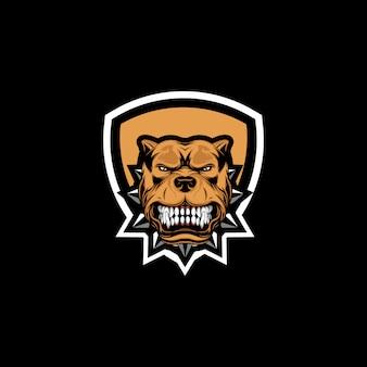 Création de logo buldog