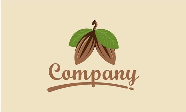Création de logo de cacao