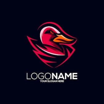 Création de logo de canard