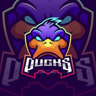 Création de logo de canards