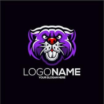 Création de logo de castor
